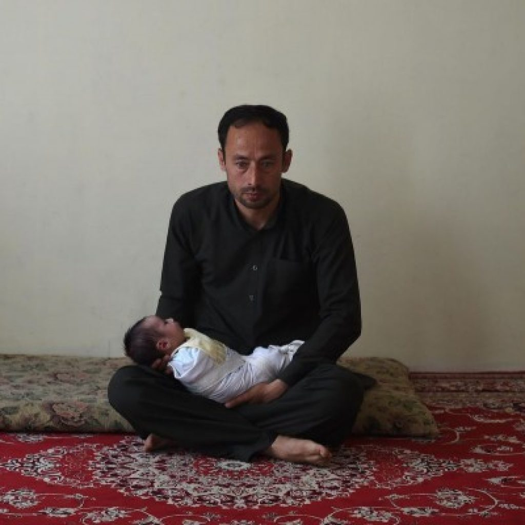 Akram's wife was killed in the horrific attack shortly after she had given birth to their daughter, Maryam.